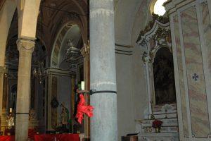 Perinaldo (IM), Chiesa Parrocchiale di San Nicolò, int.