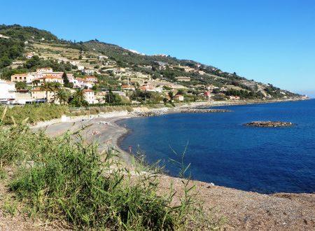 Santo Stefano al Mare (IM), zona Aregai: una vista verso levante