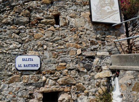 Cervo (IM): Salita al Bastione