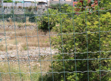 Ventimiglia (IM), zona Nervia: scavi delle mura settentrionali di Albintimilium