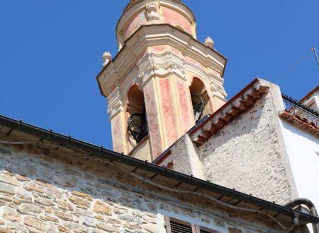 Seborga (IM): campanile della Chiesa Parrocchiale di San Martino