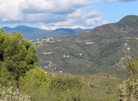 Perinaldo (IM): una vista da Località Gasco