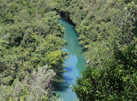 Airole (IM): il fiume Roia